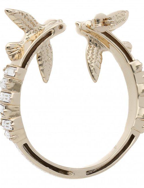 PINKO FENICOTTERO ORECCHINO EARRINGS - GOLD