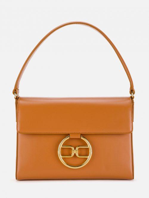 Elisabetta Franchi Micro bag with golden logo