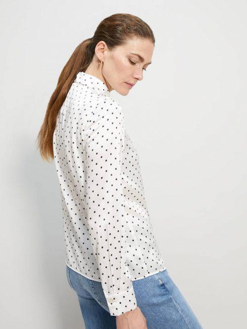 Pennyblack Polka dot satin shirt