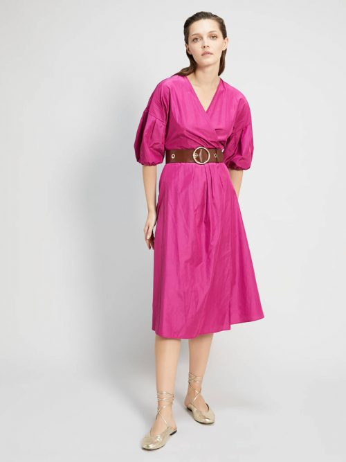 Pennyblack Taffeta wrap dress
