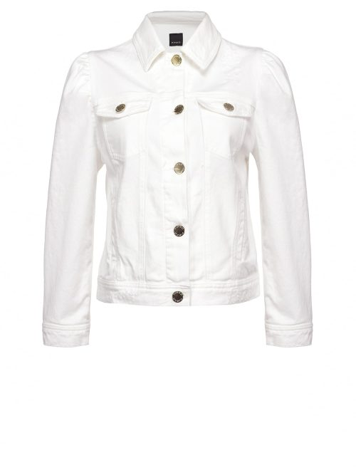 PINKO SHORT JACKET IN COTTON BULL