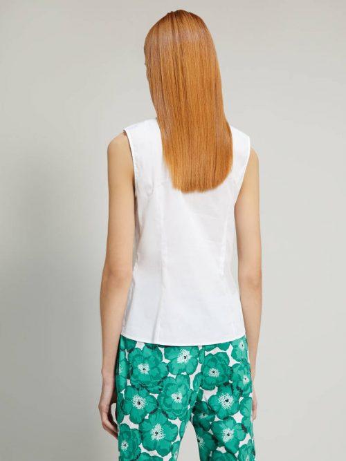 Pennyblack Poplin shirt with flounce