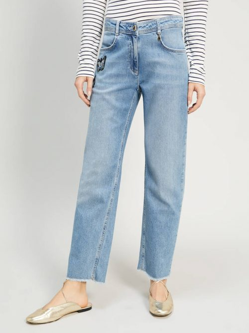Pennyblack Jeans with butterfly patches