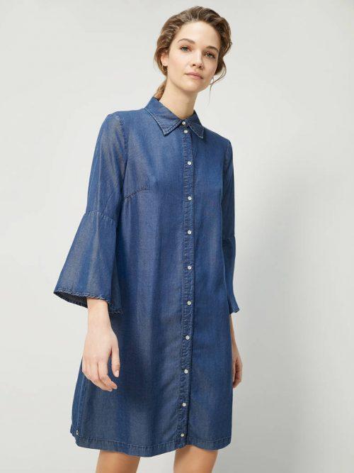 Pennyblack Flowing denim shirt dress