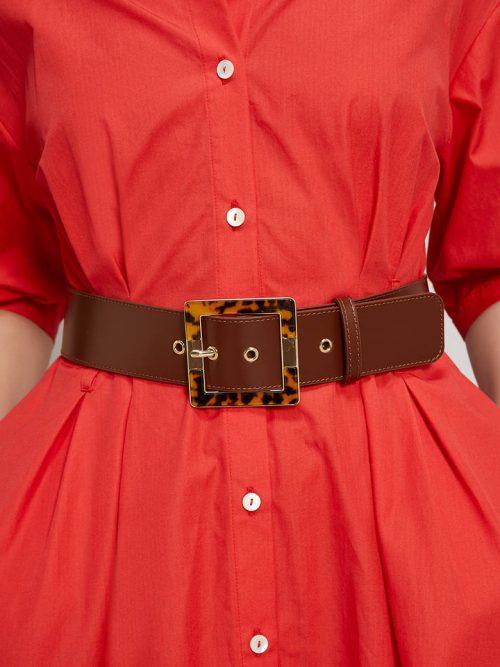 Pennyblack Belt with tortoiseshell buckle