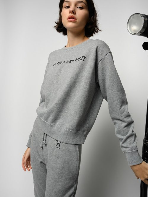PINKO - NO PINKO NO PARTY SWEATSHIRT