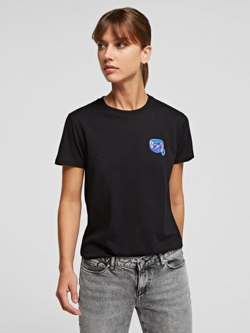 KARL LAGERFELD MINI IKONIK KARL BALLOON T-SHIRT