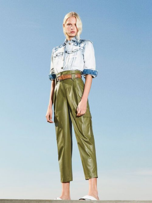 Twinset Trousers with belt Add to Wishlist