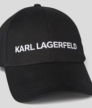 KARL LAGERFELD  ESSENTIAL LOGO CAP