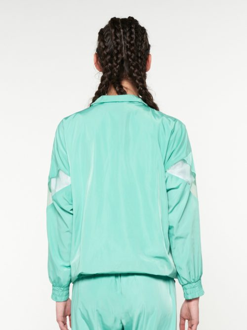 WE_ARE TRACKSUIT JACKET ORGANZA DETAILED