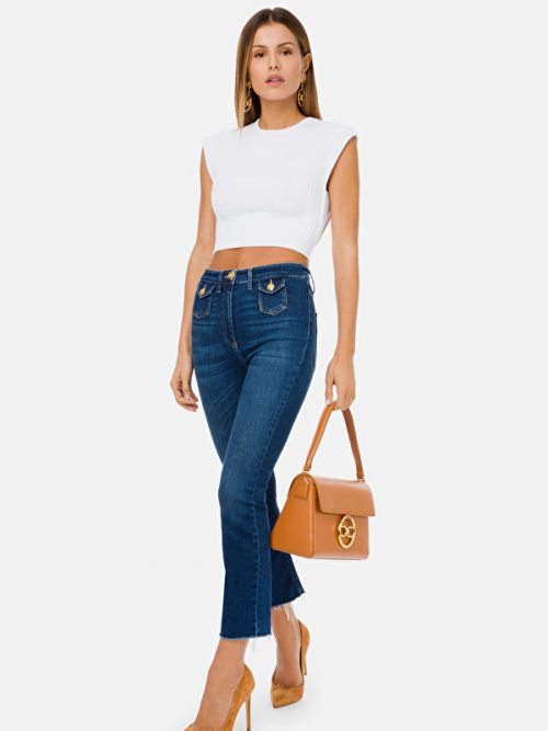 Elisabetta Franchi Mini flare jeans